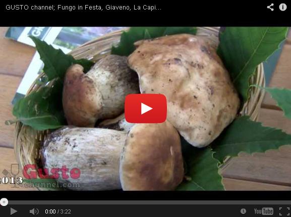 Giaveno, La Capitale del Fungo