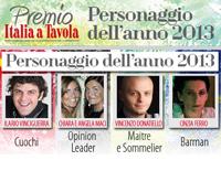 Premio ITALIA A TAVOLA 2013 risultati sondaggio