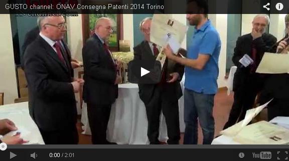 ONAV Consegna Patenti 2014 Torino