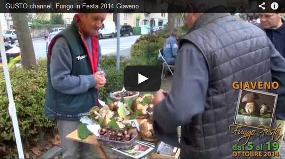 Giaveno – Fungo in festa