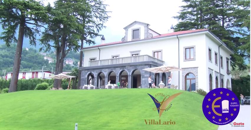Andy Luotto a Villa Lario