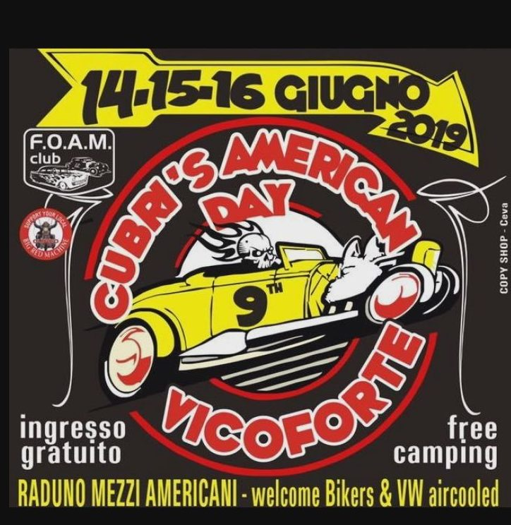 Food & Riders – Cubri's American Day – Vicoforte (CN)